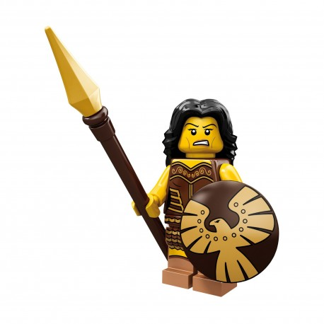 Lego Minifig Serie 10 la guerrière (La Petite Brique)