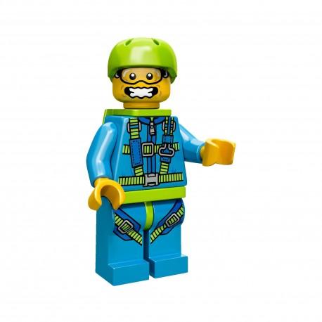Lego Minifig Serie 10 le parachutiste (La Petite Brique)