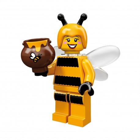Lego Minifig Serie 10 la fille abeille (La Petite Brique)