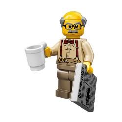Lego Minifig Serie 10 le grand-père (La Petite Brique)
