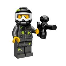 Lego Minifig Serie 10 le joueur de paintball (La Petite Brique)