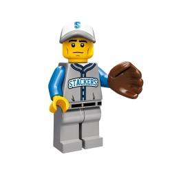Lego Minifig Serie 10 le joueur de baseball (La Petite Brique)