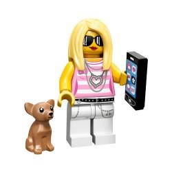 Lego Minifig Serie 10 la fille branchée, trendy (La Petite Brique)