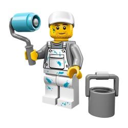 Lego Minifig Serie 10 le peintre, décorateur (La Petite Brique)