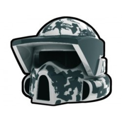 Lego Custom Minifig AREALIGHT White ARF Camo Helmet (La Petite Brique)