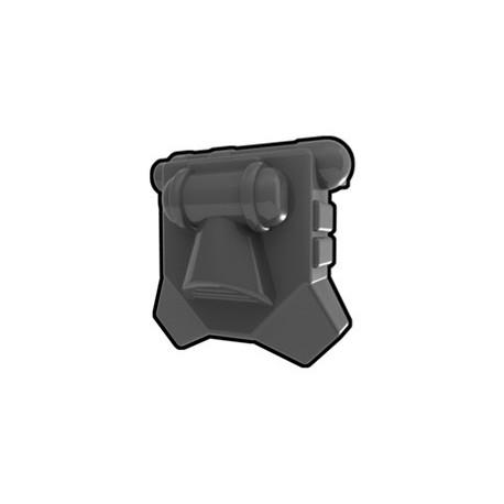 Lego Custom Minifig AREALIGHT Dark Gray Merc Jetpack (La Petite Brique)