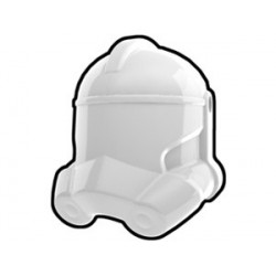 Lego Custom Minifig AREALIGHT White Trooper Helmet (La Petite Brique)