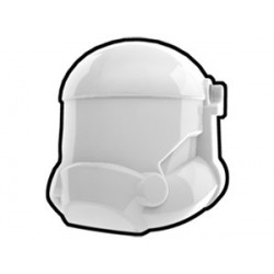 Lego Custom Minifig AREALIGHT White Combat Helmet (La Petite Brique)