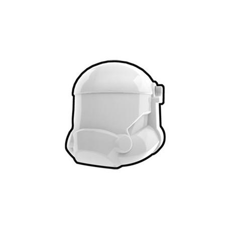 White Combat Helmet