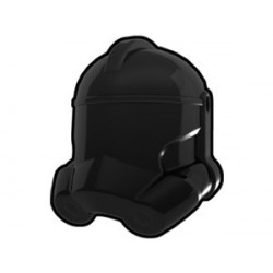 Lego Custom Minifig AREALIGHT Black Trooper Helmet (La Petite Brique)