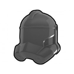 Lego Custom Minifig AREALIGHT Dark Gray Trooper Helmet (La Petite Brique)