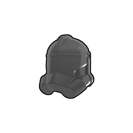 Lego Custom Minifig AREALIGHT Dark Gray Trooper Helmet (La Petite Brique)