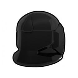 Lego Custom Minifig AREALIGHT Black Comm Helmet (La Petite Brique)