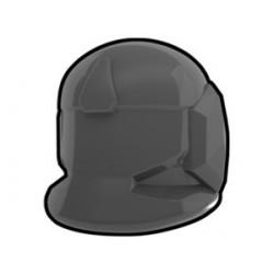 Lego Custom Minifig AREALIGHT Dark Gray Comm Helmet (La Petite Brique)