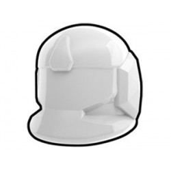 Lego Custom Minifig AREALIGHT White Comm Helmet (La Petite Brique)