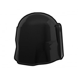 Lego Custom Minifig AREALIGHT Black Hunter Helmet (La Petite Brique)
