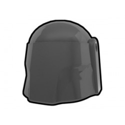 Lego Custom Minifig AREALIGHT Dark Gray Hunter Helmet (La Petite Brique)