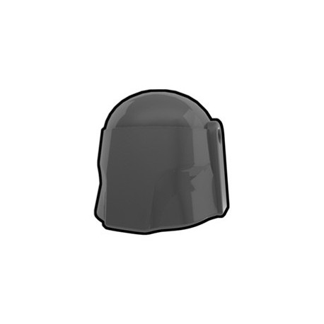 Lego Custom Minifig AREALIGHT Dark Gray Hunter Helmet (La Petite Brique)