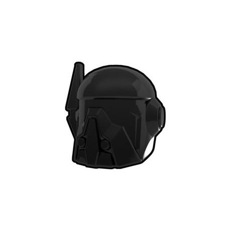 Lego Custom Minifig Black Merc Helmet (La Petite Brique)
