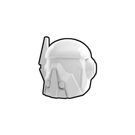 Lego Custom Minifig AREALIGHT White Merc Helmet (La Petite Brique)