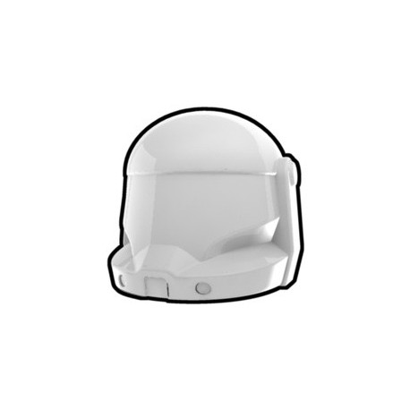 Lego Custom Minifig White Commando Helmet (La Petite Brique)