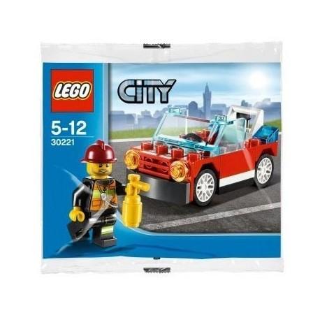 Lego Polybag Impulse 30221 La voiture de Pompier (La Petite Brique)