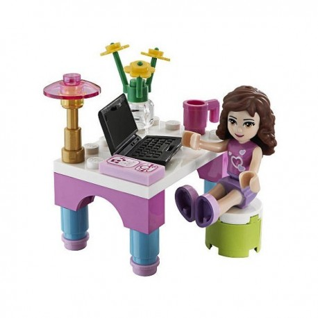 Lego Polybag Impulse Friends - Le Bureau d'Olivia (La Petite Brique)