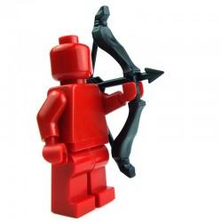Lego Custom BRICK WARRIORS Arc Scythe (noir) La Petite Brique