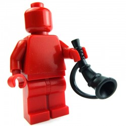 Lego Custom BRICK WARRIORS Battle Horn (noir) La Petite Brique