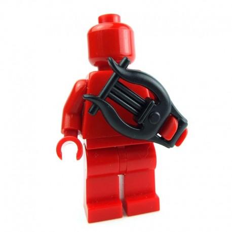 Lego Custom BRICK WARRIORS Lyre (noir) La Petite Brique