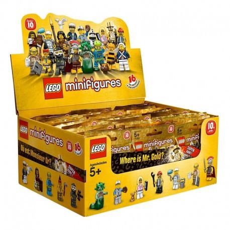 Lego Minifig Serie 10 71001 - Boite complète de 60 sachets - Série 10 (La Petite Brique)