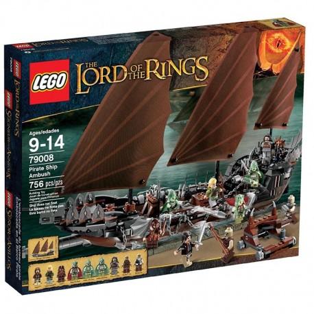 Lego LOTR 79008 - L'embuscade du bateau pirate (La Petite Brique)
