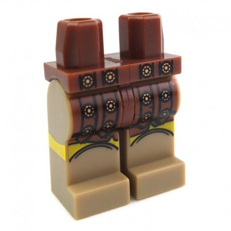 Lego Accessoires Minifig Jambes - ceinture romaine, médaillons dorés (La Petite Brique)
