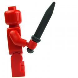 Lego Accessoires Minifig Glaive, Epée courte, Gladius (Pearl Dark Gray) (La Petite Brique)