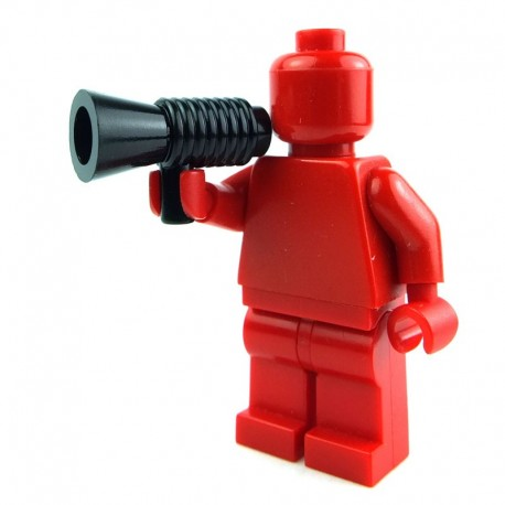 Lego Accessoires Minifig Megaphone (noir) (La Petite Brique)