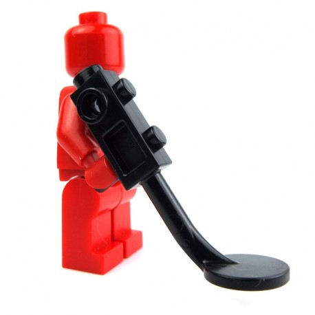 Brown Utensil Torch w// Trans Red Flame LEGO Pirates Minifig
