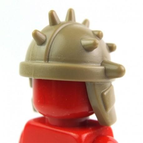 Lego Custom Accessoires Minifig BRICK WARRIORS Casque Goblin (beige foncé) (La Petite Brique)