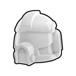 Lego Minifig Custom AREALIGHT White AT-RT Pilot Helmet (La Petite Brique) Star Wars
