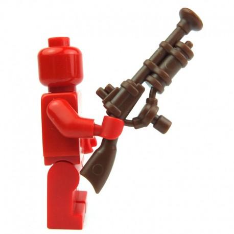 Lego Custom Accessoires Minifig BRICK WARRIORS Steampunk Rifle (marron) (La Petite Brique)