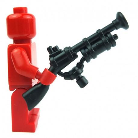 Lego Custom Accessoires Minifig BRICK WARRIORS Steampunk Rifle (noir) (La Petite Brique)