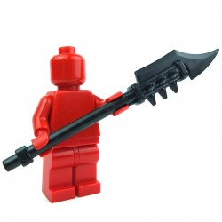 Lego Custom BRICK WARRIORS Ogre Warclub (noir) La Petite Brique