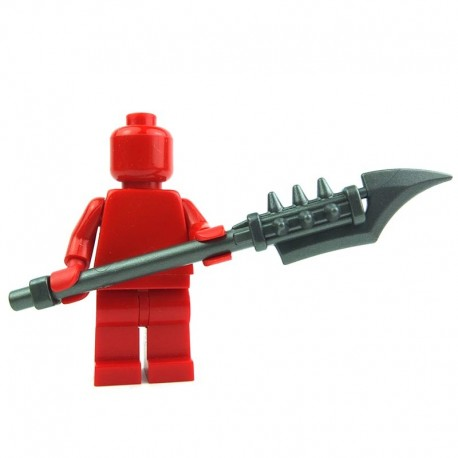 Lego Custom BRICK WARRIORS Ogre Warclub (steel) La Petite Brique