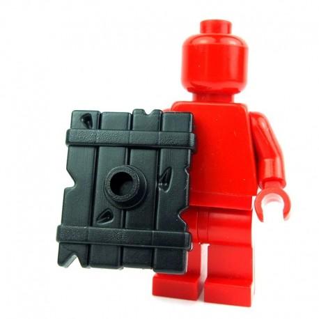 Lego Custom BRICK WARRIORS Bouclier Goblin (noir) La Petite Brique