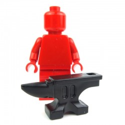 Lego Custom BRICK WARRIORS Enclume (noir) La Petite Brique