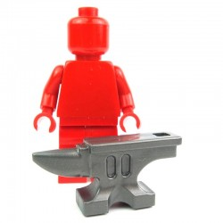 Lego Custom BRICK WARRIORS Enclume (steel) La Petite Brique