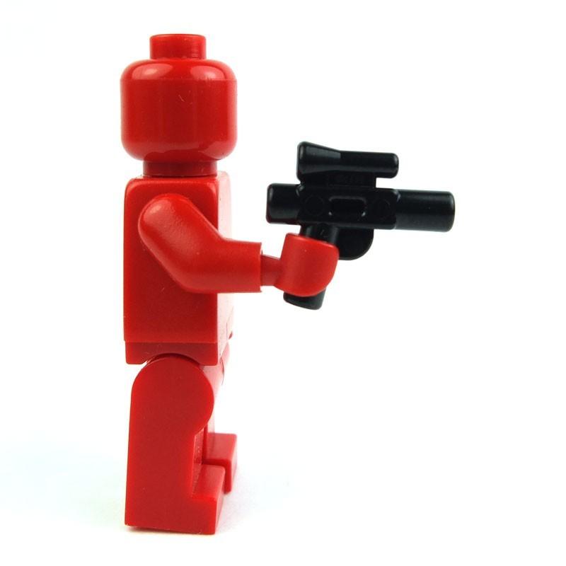 x2 NEW Lego ARMY GUNS War Weapon For Army Minifigs PERL DARK GRAY