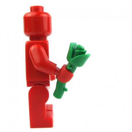 Lego Custom Accessoires Minifig BRICK WARRIORS Rose empoisonnée (vert) (La Petite Brique)