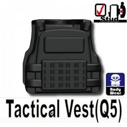 Lego Si-Dan Toys Tactical Vest Q5 (noir) (La Petite Brique)