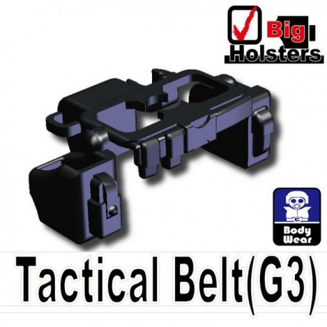 Lego Si-Dan Toys Ceinture Tactical G3 (noir) (La Petite Brique)