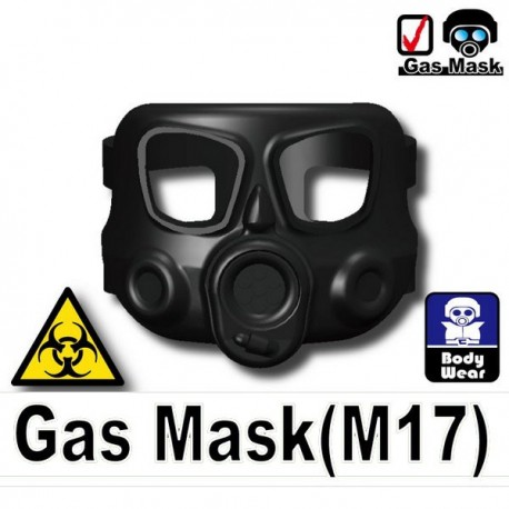 Gas mask M17 (black)
